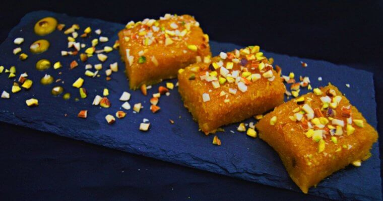 Mango Coconut Burfi (Mango Coconut Fudge + Video)