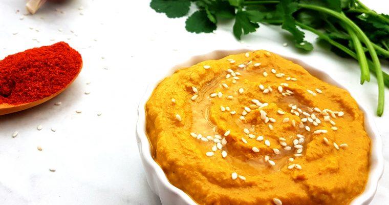 Carrot Dip (Vegan & gluten free spicy chutney)