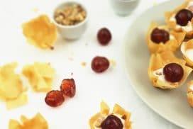 yogurt cherry phyllo cups