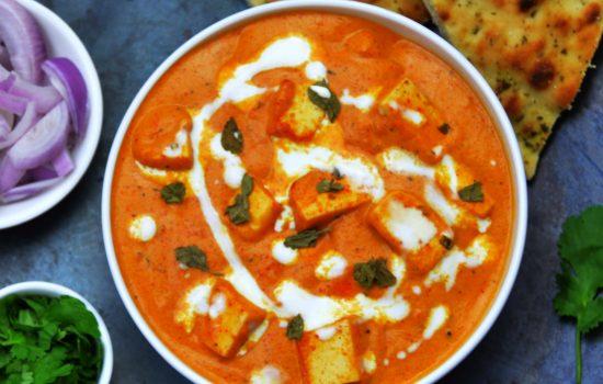Paneer Makhani (Restaurant style recipe + Video)