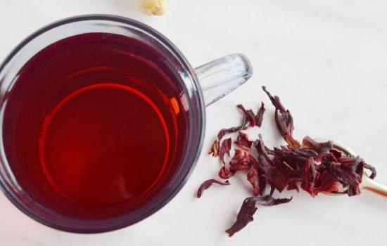 Hibiscus Tea Recipe (Healthy herbal tea w/ Video)