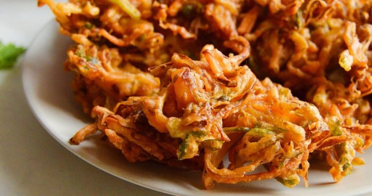 Vegetable Pakora (Gluten free & Vegan) (Video)