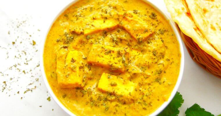 Methi Malai Paneer (Restaurant Style Curry + Video)