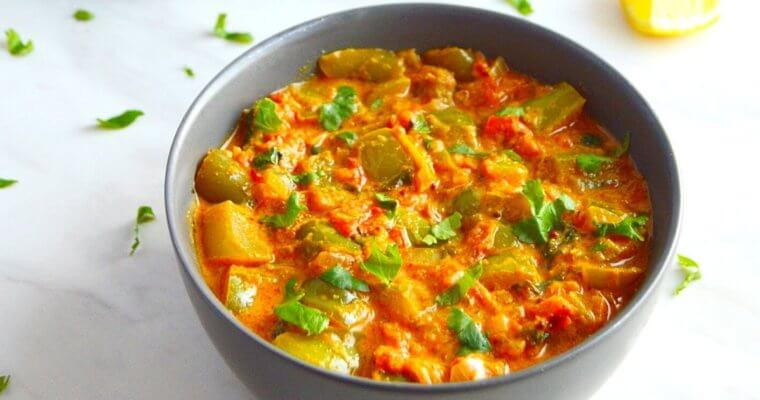 Capsicum Masala (Vegan & GF curry +Video)