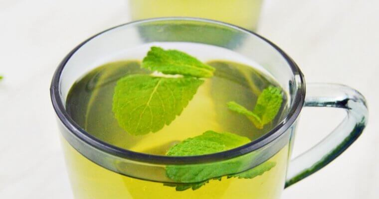 Fresh Mint Tea (Sugar-free, Caffeine-free + Video)