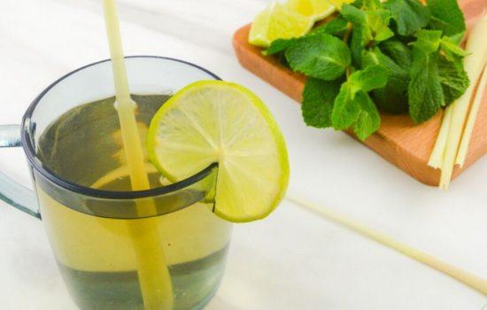 Lemongrass Ginger Tea (Dairy-free Herbal Tea + Video)