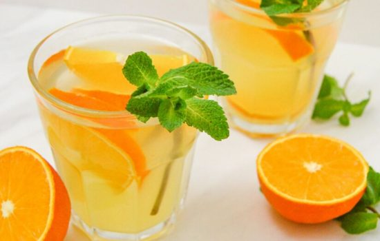 Orange Simple Syrup ( Orange Flavoured Syrup for Drinks & Cakes)