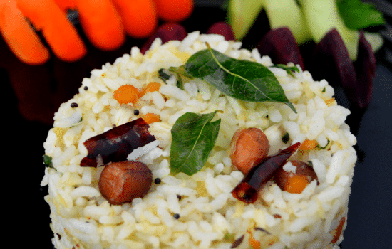 South Indian Coconut Rice (Vegan and GF)